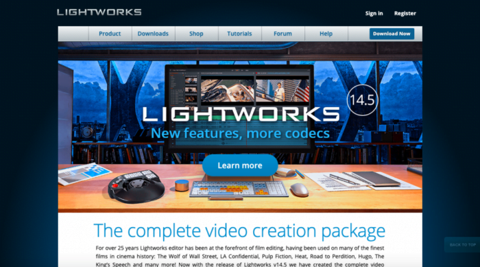 Best Video Editing Software for YouTubers (LightWorks)