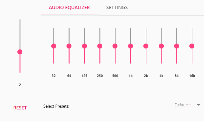 Equalizer for Windows 10 (Eq audio Equalizer)