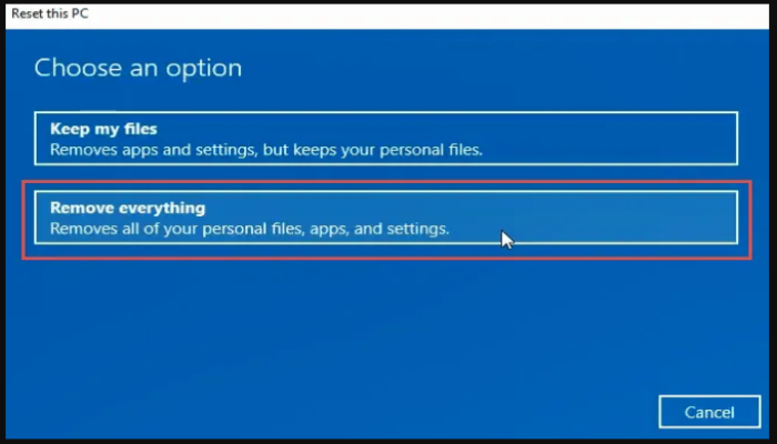 Wipe a Windows 10 Computer with a Clean Install (2)